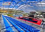60x100m Movable Polygon Marquee With White Roof Covers For Outdoor Sports Event