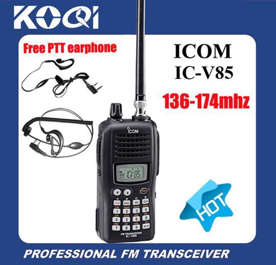 ham radio icom ic v85 vhf 136 174 mhz with headset for sale walkie rh tracykoqi sell everychina com Icom Ic- 4214 VHF Marine Radio Icom IC- 7000 Review