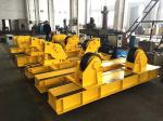 5T - 40T Tank Turning Rolls , Pipe Welding Rollers For Pressure Vessels