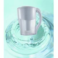 China Household Pre-Filtration Water Purification Pitcher , Fluoride Water Filter Jug AS Material on sale