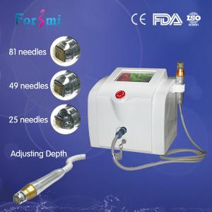 China microneedle RF machine facial aesthetic skin care portable on sale