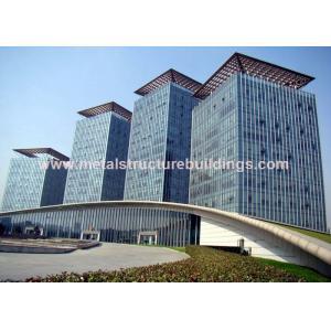 Estructuras de acero prefabricadas galvanizadas caja fuerte para el edificio de la infraestructura