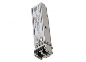 China ES3112 - 3LCD2 Sfp Gigabit Ethernet Module , Duplex LC Fiber Optic Transceiver on sale
