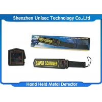 China Professional Hand Held Metal Detector / Portable Metal Detector MD3003B1 on sale