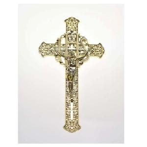 China Delicate Decoration Casket Crucifix PP Recycled Materials Size 30 * 17cm on sale