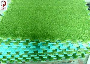 China Landscaping Artificial Grass , Green Fake Turf Grass 3/8inch Gauge on sale