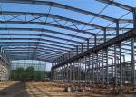 Large Span Steel Structure Workshop Building Warehouse Foundation Construction