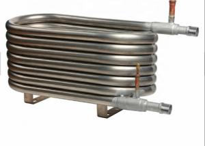 China Titanium Coaxial Heat Exchanger Low Power Consumption For Manufacturing Plant on sale