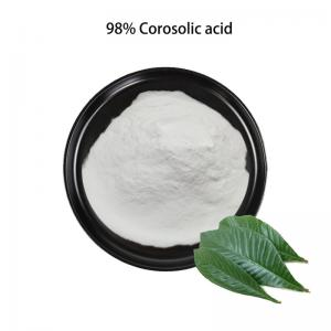 China White Powder 98% Loquat Leaf Extract Corosolic Acid CAS 4547-24-4 on sale