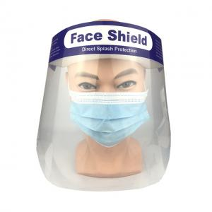 China High Temperature Resistance Elastic Headband Disposable Face Shield on sale
