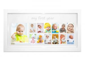 China Popular Gifts Baby First 12 Months Photo Frame For Monther's Day on sale
