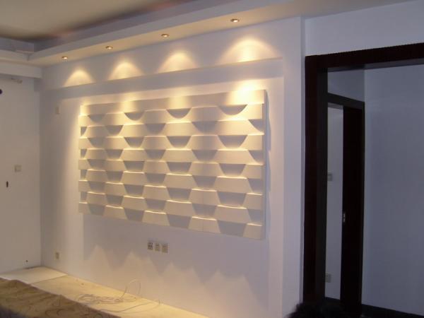 Good Original PU 3D Decorative Wall Panel For Interior Decoration Images