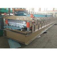 China 686 & 762 IBR and Corrugated Profile Roll Forming Machine / Metal Roofing Equipment on sale