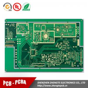 China BGA Multilayer PCB with TG180 Laminates, Made of FR4, Aluminum, FPC and Copper on sale