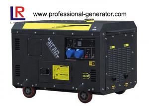 China Air-cooled 9 kW Super Soundproof Diesel Generator for Home Use on sale
