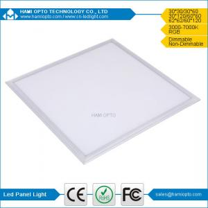 China Dimmable Square Flat Flat 600 600 led panel light on sale