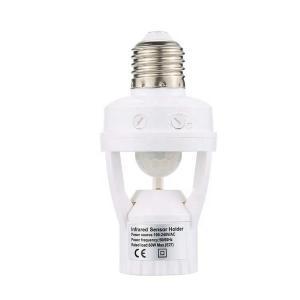 China Extra function screw-socket universal E27 15W-75W motion sensor light holder on sale