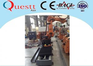 China 3KW Fiber Metal Laser Cladding Machine Automatic Welding Machine With Robotic Arm on sale