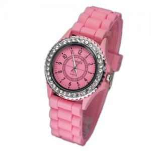 China promotional silicone fashion watch,square silicone jelly watch,geneva silicone jelly watch on sale