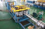 Automatic Double Wall Corrugated Pipe Extrusion Line , SBG500 Corrugated Pipe Equipment