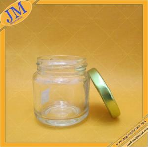 China 3oz 90ml glass jar with lug cap on sale