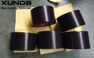 China ISO 21809 External Pipe Coating Materials Corrosion Resistant Tape Black Color on sale