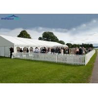 Large Outdoor Party Tent For 300 Seater / Clear Wedding Marquee