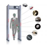 Touch Screen Walk Through Metal Detector Door Frame For Defender / Public / Archway Security