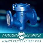 Fluorine Lined PTFE Check Valve , PTFE Lined Valves