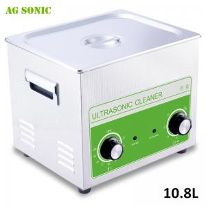 China Scientific Laboratory Ultrasonic Cleaner , Ultrasonic Cleaning Bath 10.8L with Heating on sale