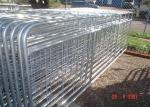 Horse Corral Panels Powder Coated 6 Bars Cattle for Famr and Yard