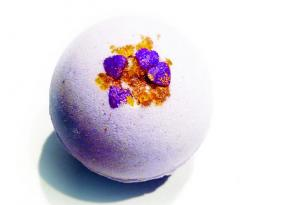China Plant Essential Oil Bath Organic Bath Fizzies /  Handmade Fizzy Bath Balls on sale