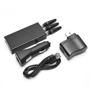 China Portable Cell Phone Jammer wholesale Best Mobile Jammer GSM CDMA  DCS PHS Mobile Phone Jammer for sale on sale