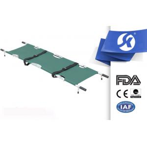 China Fire Proof Foldable Stretcher For Military / Emergency Rescue Stretcher on sale
