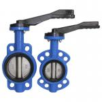 Good sealing Performance Wafer Type Butterfly Valve from DN40 to DN1200