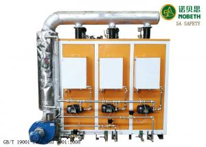 China 200KG Steel Small Commercial Steam Generator With Natural Gas / Oil Fired on sale