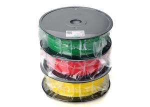 China High Stiffness 1.75 ABS 3D Printer Filament Multi - Color Rapid Prototype on sale