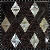 Colored Spell Mosaic Mirror, Sandblasting Spell Mirror, Aicd Etch Spell Mirror