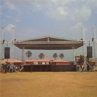 Concert 6082 - T6 Aluminium Roof Trusses For Outdoor Event Stage Custom Size