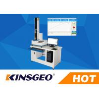 Digital Peel Adhesion Test Equipment , 180 / 90 Degrees Peel Strength Tester With Adhesive Tape 5KN
