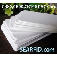 China CR80 PVC Card, CR90 PVC Card, CR100 PVC Card, used for Card Printer, Encapsulate RFID Card on sale