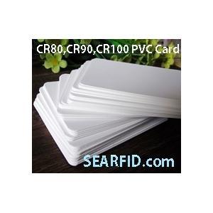 China La carte de PVC CR80, carte de PVC CR90, carte de PVC CR100, utilisée pour l'imprimante de carte, encapsulent la carte de RFID on sale
