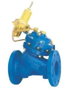 China Flow Control Pressure Reducing Valves Double Chamber With Large Control Filter on sale