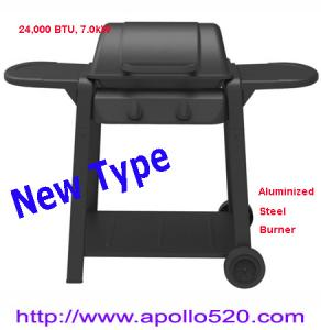 China 2 Burner Gas Barbecue on sale