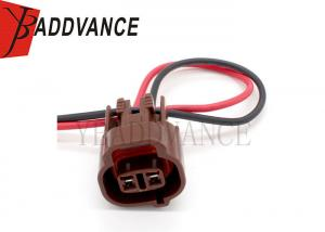China 6189-0033 Sumitomo MT Series 090 Brown Female 2 Way Wire Pigtail Connector on sale