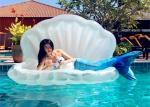 Rideable Inflatable Shell Pool Float PVC Material Light Weight Portable To Carry