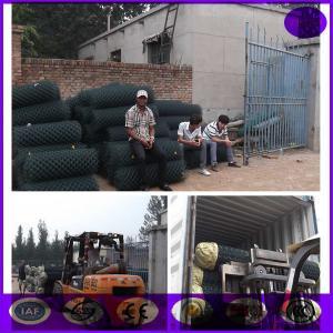 China Obscuridade decorativa do preço de grosso - cerca verde do elo de corrente do revestimento do Pvc on sale
