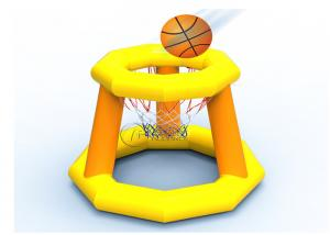 China water sport shooting game inflatable water floating basketball hoop supplier