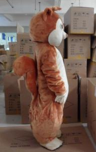 Quality Squirrel chipmunk mascot animal costumes for kid with with good ventilation for sale