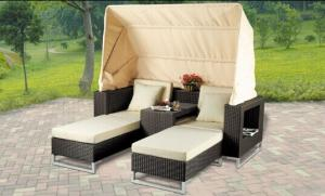 China aluminium garden furniture modular sofa aluminum patio furniture on sale